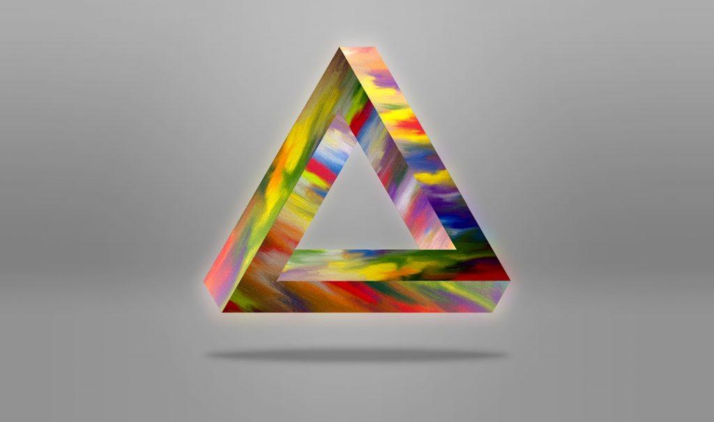 正三角形の復縁おまじない