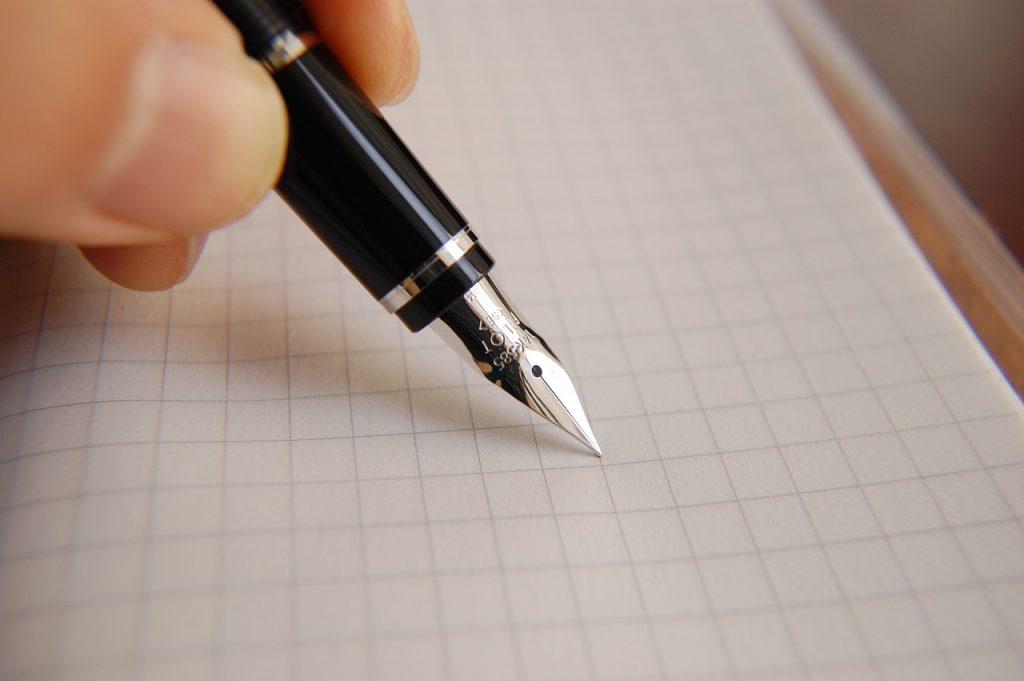 渡さない手紙を書いてみましょう